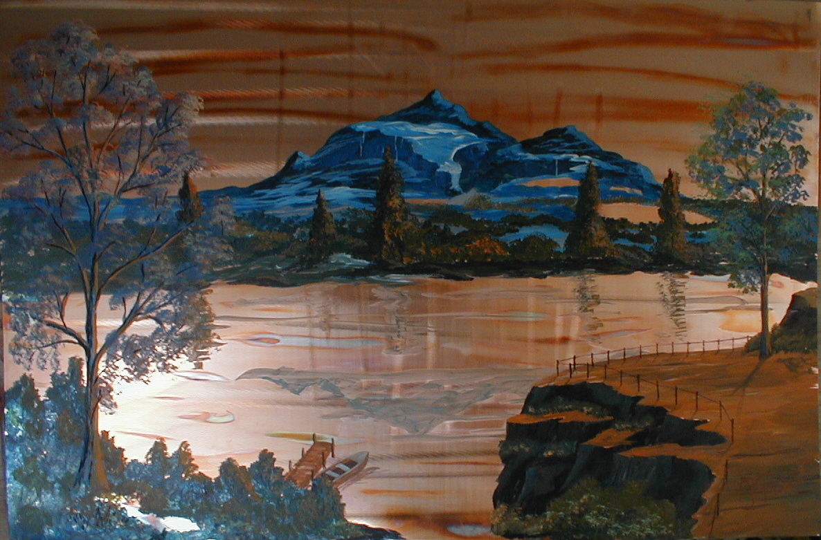 #2052 The Blue Mountains 36 x 2403